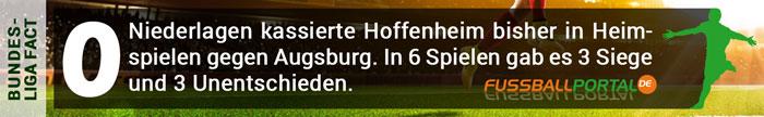 Fact Hoffenheim - Augsburg