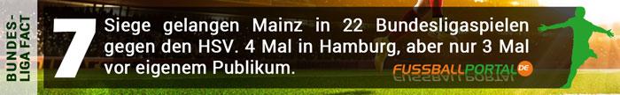 Fact Mainz 7 Siege in 22 Spielen gegen den HSV
