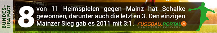 Fact Schalke - Mainz
