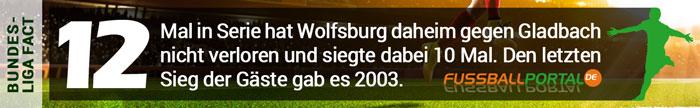 Fact Wolfsburg - Gladbach