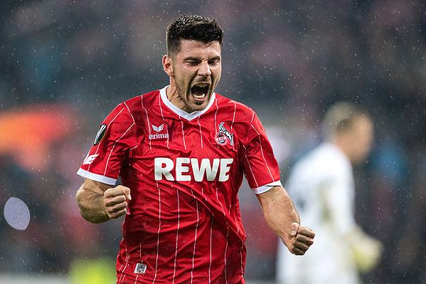 20171102_PD11322 (RM) Milos Jojic 1. FC Köln © Marius Becker / dpa / picturedesk.com