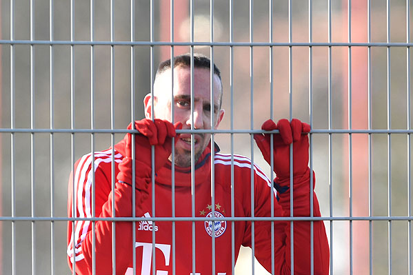 20171114_PD2184 (RM) Franck Ribery FC Bayern © Frank Hoermann / dpa Picture Alliance / picturedesk.com