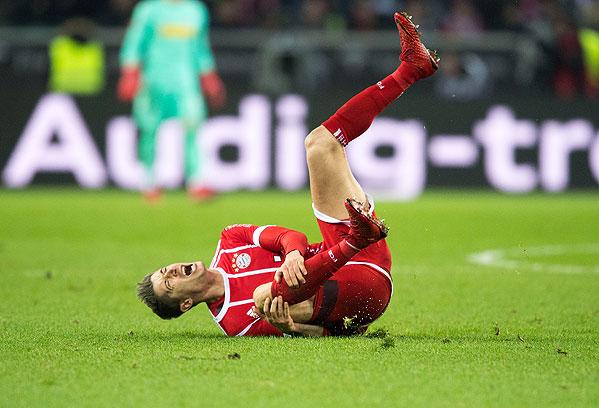 20171125_PD10787 (RM) Robert Lewandowski FC Bayern © Anke Waelischmiller / dpa Picture Alliance / picturedesk.com