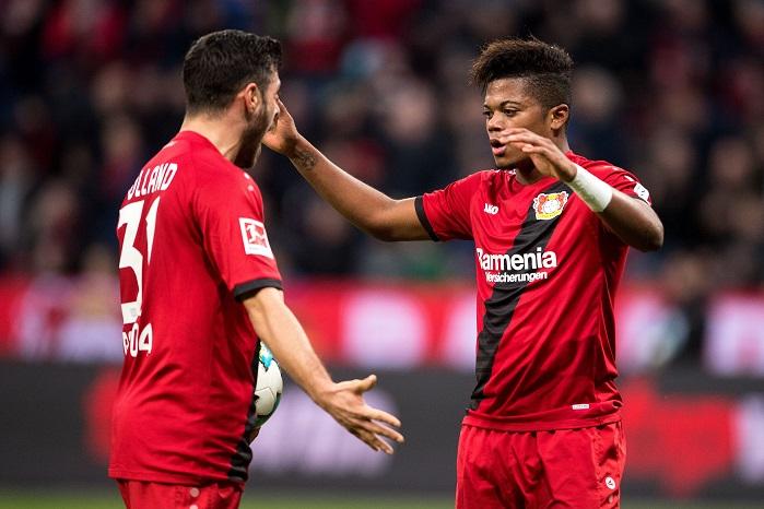 20171118_PD4034 (RM) Leverkusen Volland Bailey Marius Becker / dpa / picturedesk.com