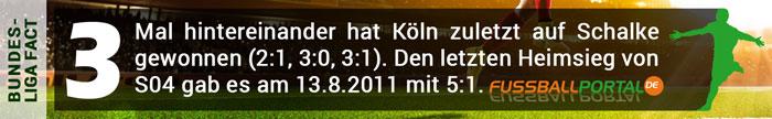 Fact Schalke gegen Köln