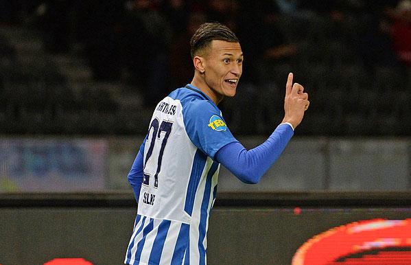 20171118_PD13609 (RM) Davie Selke Hertha BSC © Jan Kuppert / dpa Picture Alliance / picturedesk.com