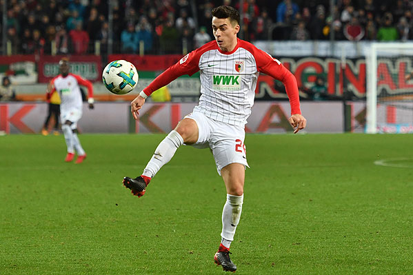 20171125_PD10460 (RM) Erik Thommy FC Augsburg © Frank Hoermann / dpa Picture Alliance / picturedesk.com