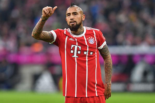 20171202_PD12448 (RM) Arturo Vidal FC Bayern München © Frank Hoermann / dpa Picture Alliance / picturedesk.com