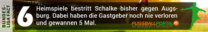 Fact Schalke - Augsburg