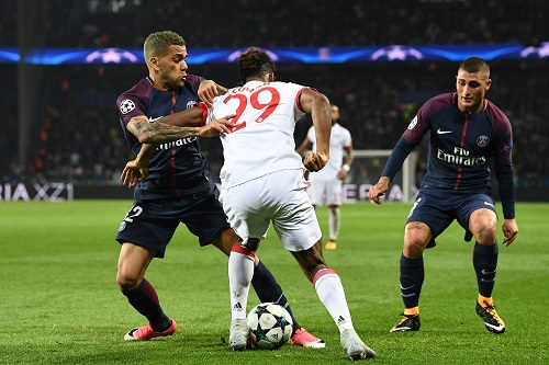 Coman vs PSG - credits: FRANCK FIFE / AFP / picturedesk.com