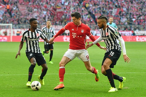 Robert Lewandowski vs Frankfurt - credits: Frank Hoermann / dpa Picture Alliance / picturedesk.com