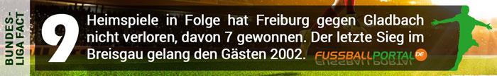 Fact Freiburg - Gladbach