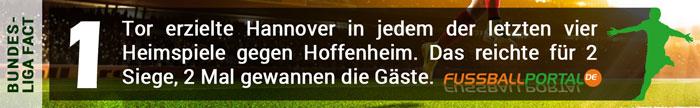 Fact Hannover - Hoffenheim