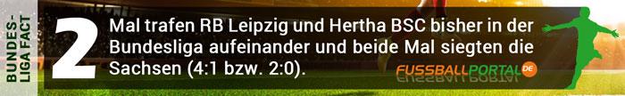 Fact Leipzig - Hertha