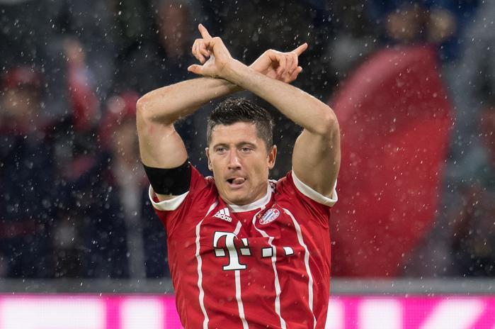 20170818_PD7847 (RM) Bayern München Lewandowski Leverkusen © Sven Hoppe / dpa / picturedesk.com