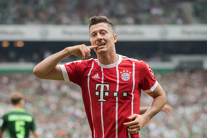 0170826_PD14265 (RM) Lewandowski FC Bayern © Franz Waelischmiller / dpa Picture Alliance / picturedesk.com