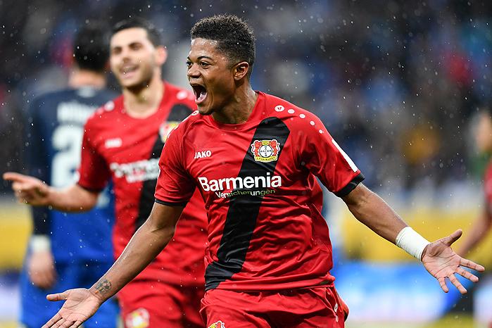 20180120_PD5442 (RM) Leverkusen Leon Bailey © Uwe Anspach / dpa / picturedesk.com