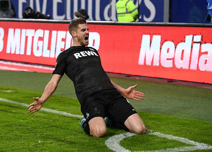 20180120_PD7685 (RM) Simon Terodde 1. FC Koeln © Daniel Reinhardt / dpa / picturedesk.com