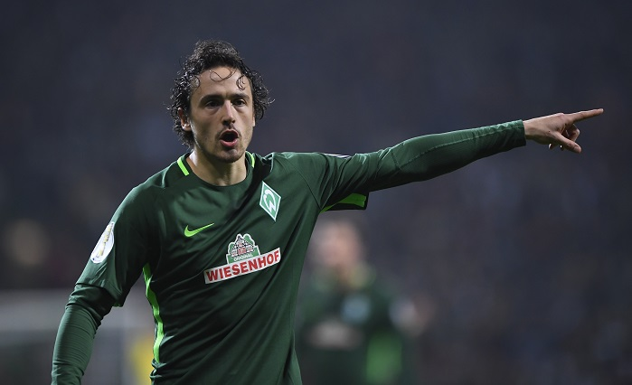 20171220_PD7591 (RM) Thomas Delaney Werder Bremen Marvin Ibo / dpa Picture Alliance / picturedesk.com