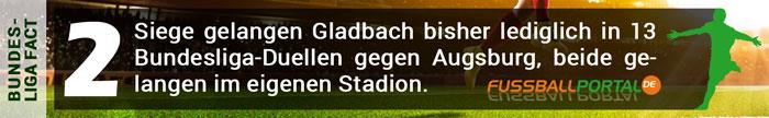 Fact Gladbach - Augsburg