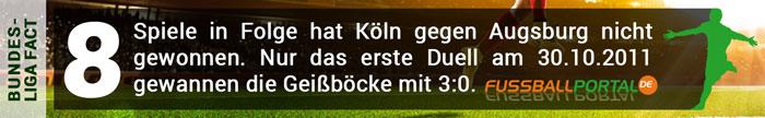 Fact Köln - Augsburg