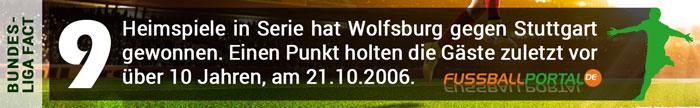Fact Wolfsburg - Stuttgart