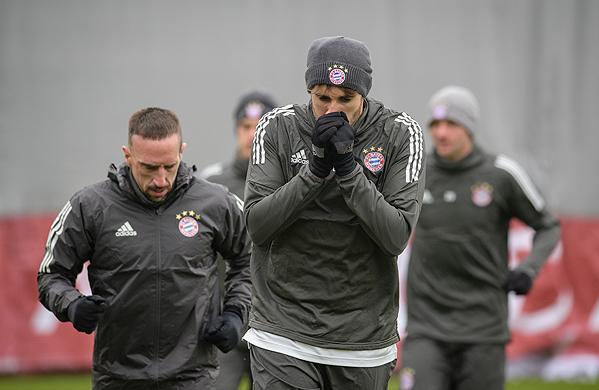 20180219_PD4371 (RM) FC Bayern München Training © Matthias Balk / dpa / picturedesk.com