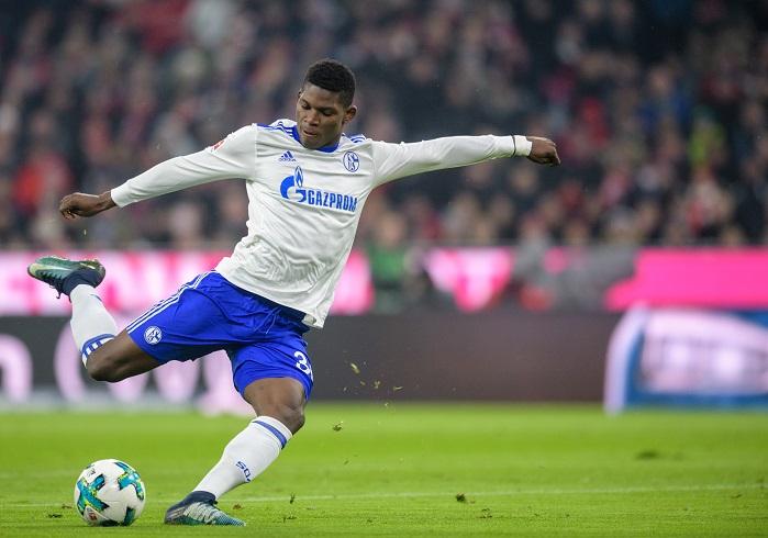 20180210_PD14922 (RM) Breel Embolo Schalke Matthias Balk / dpa / picturedesk.com