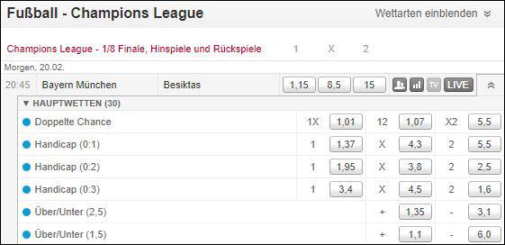Champions-League-Tipico-Spezialwetten-Bayern-Besiktas
