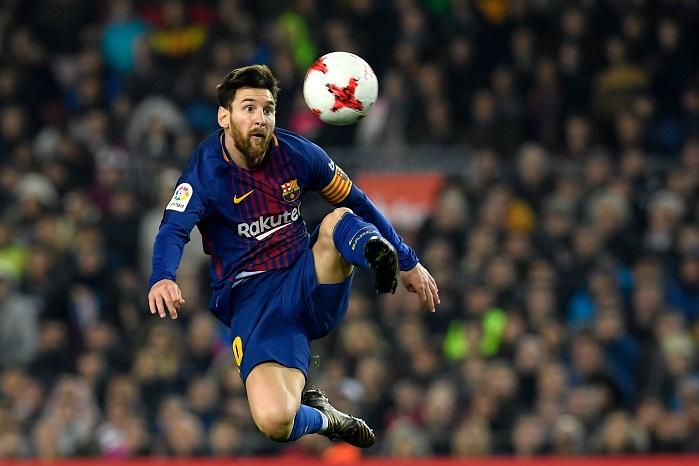20180125_PD7818 (RM) Lionel Messi LLUIS GENE / AFP / picturedesk.com