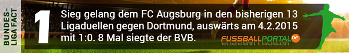 Fact Dortmund - Augsburg