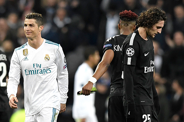 20180214_PD16265 (RM) Real Ronaldo PSG © GABRIEL BOUYS / AFP / picturedesk.com