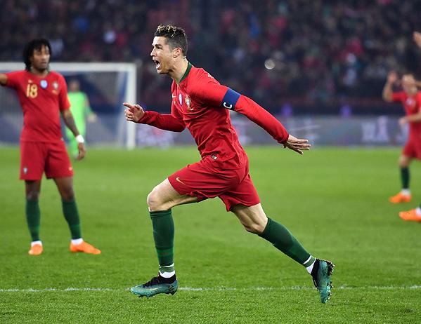 20180323_PD10500 (RM) Ronaldo Portugal © FABRICE COFFRINI / AFP / picturedesk.com