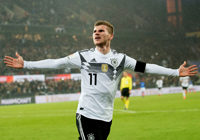 Timo Werner DFB - © Uwe Anspach / dpa / picturedesk.com