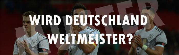 Wie weit kommt Deutschland bei der WM 2018?