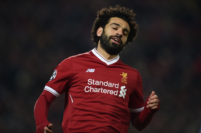 20180306_PD8010 (RM) Mohamed Salah Liverpool PAUL ELLIS / AFP / picturedesk.com