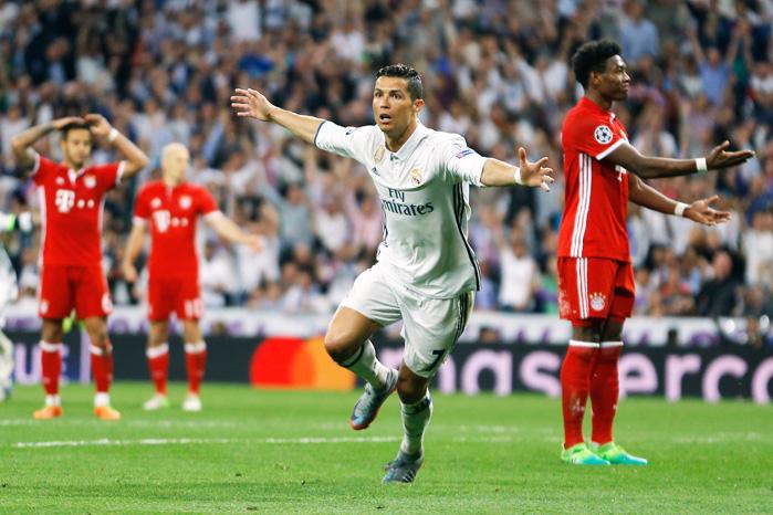 Tor Ronaldo vs Bayern - (© Francisco Seco / AP / picturedesk.com)