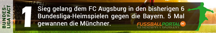 Fact Augsburg - Bayern