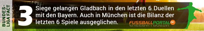 Fact Bayern - Gladbach