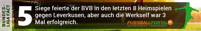 Fact Dortmund - Leverkusen