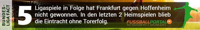 Fact Frankfurt - Hoffenheim