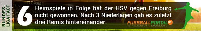Fact HSV - Freiburg