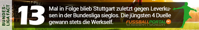 Fact Leverkusen - Stuttgart