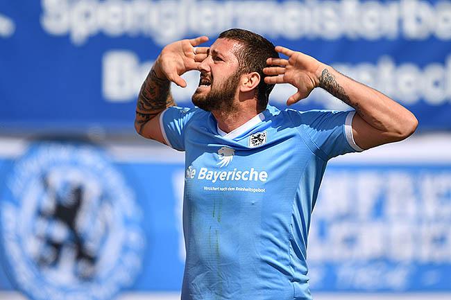 20180414_PD3671 (RM) Sascha Mölders TSV 1860 München © Frank Hoermann / dpa Picture Alliance / picturedesk.com