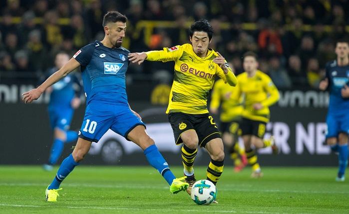 20171216_PD5247 (RM) Hoffenheim Dortmund Guido Kirchner / dpa / picturedesk.com