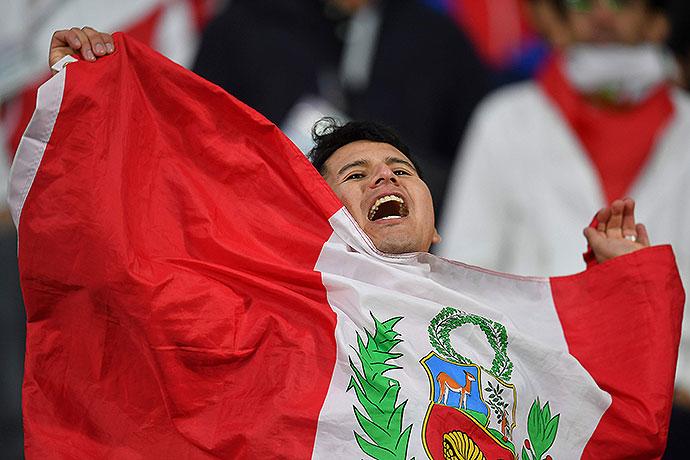 20180621_PD10322 (RM) Fan Peru © HECTOR RETAMAL / AFP / picturedesk.com