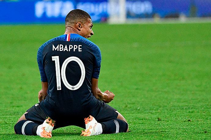 20180710_PD10756 (RM) Bild zeigt Frankreichs Kylian Mbappe © CHRISTOPHE SIMON / AFP / picturedesk.com