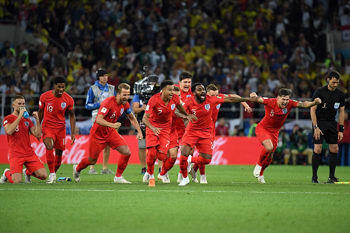England Elfmeterschießen © YURI CORTEZ / AFP / picturedesk.com