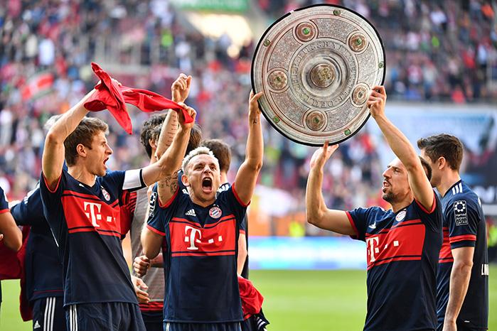 Bayern München Meisterfeier