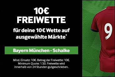 10 Euro Gratiswette bei Betway